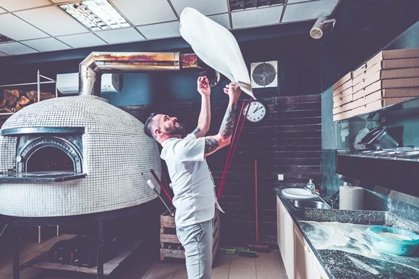 bucatarie pizzerie